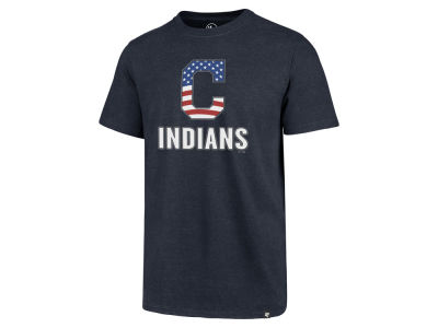 Cleveland Indians '47 MLB Men's Spangled Banner Club T-Shirt