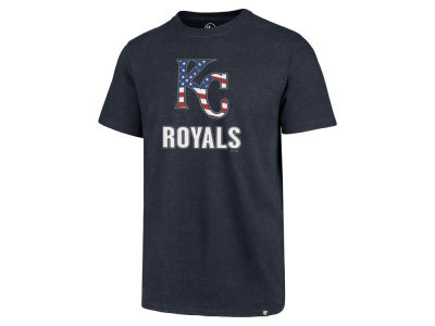 Kansas City Royals '47 MLB Men's Spangled Banner Club T-Shirt