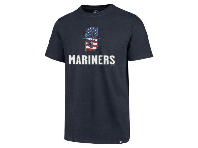 Seattle Mariners '47 MLB Men's Spangled Banner Club T-Shirt