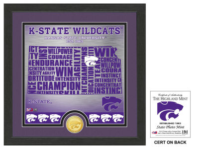 Kansas State Wildcats Highland Mint State Coin Photo Mint