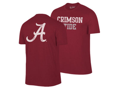 Alabama Crimson Tide The Victory NCAA Men's Team Stacked Dual Blend T-Shirt