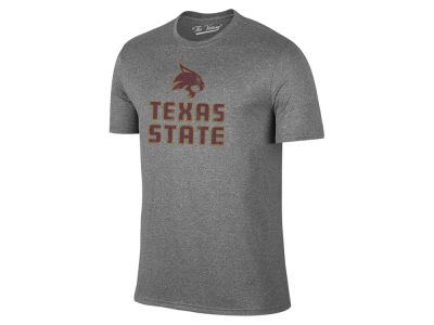 Texas State Bobcats The Victory NCAA Men's Logo Dual Blend T-Shirt