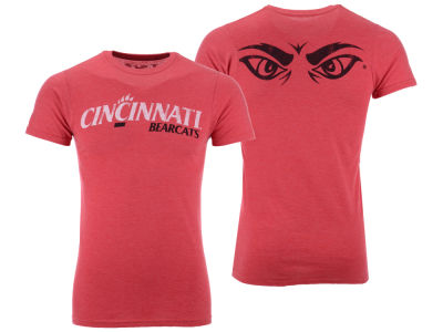 Cincinnati Bearcats Retro Brand NCAA Men's Team Stacked Dual Blend T-Shirt