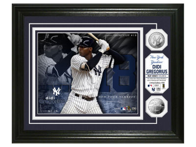 New York Yankees Didi Gregorius Highland Mint Silver Coin Photo Mint