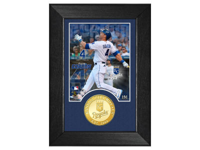Kansas City Royals Alex Gordon Highland Mint Bronze Coin M-Series