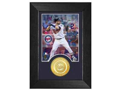 Minnesota Twins Brian Dozier Highland Mint Bronze Coin M-Series