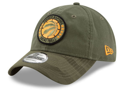 Toronto Raptors New Era 2018 NBA Tip Off Army 9TWENTY Cap