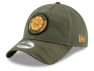 Boston Celtics New Era 2018 NBA Tip Off Army 9TWENTY Cap