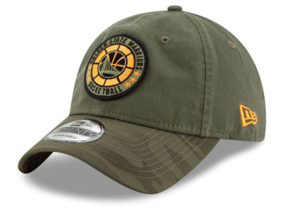 Golden State Warriors New Era 2018 NBA Tip Off Army 9TWENTY Cap