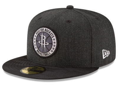 Houston Rockets New Era NBA Tip Off Black 59FIFTY Cap