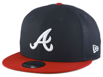Atlanta Braves New Era MLB Basic 9FIFTY Snapback Cap