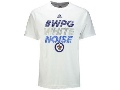 Winnipeg Jets adidas NHL Men s Hashtag Noise T-shirt 9282d42db