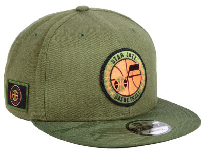 Utah Jazz New Era NBA Tip Off 9FIFTY Snapback Cap