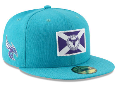 Charlotte Hornets New Era NBA Tip Off 59FIFTY Cap