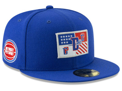 save off 08488 e0311 ... promo code for detroit pistons new era nba tip off 59fifty cap a6bf9  ac53a