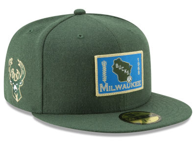 Milwaukee Bucks New Era NBA Tip Off 59FIFTY Cap
