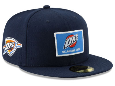 Oklahoma City Thunder New Era NBA Tip Off 59FIFTY Cap a55438c6f
