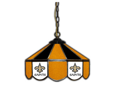"New Orleans Saints Imperial 14"" Glass Pub Lamp"