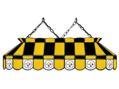 "Pittsburgh Steelers Imperial 40"" Glass Lamp"