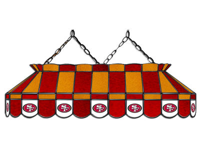 "San Francisco 49ers Imperial 40"" Glass Lamp"
