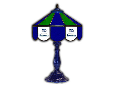 "Seattle Seahawks Imperial 21"" Glass Table Lamp"