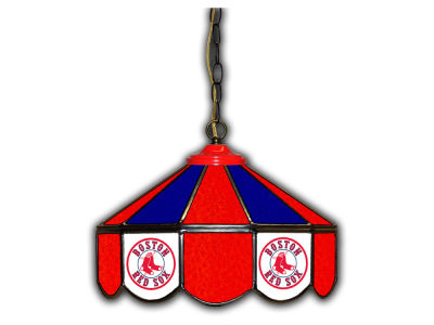 "Boston Red Sox Imperial 14"" Glass Pub Lamp"