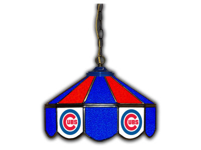 "Chicago Cubs Imperial 14"" Glass Pub Lamp"