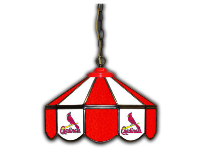 "St. Louis Cardinals Imperial 14"" Glass Pub Lamp"