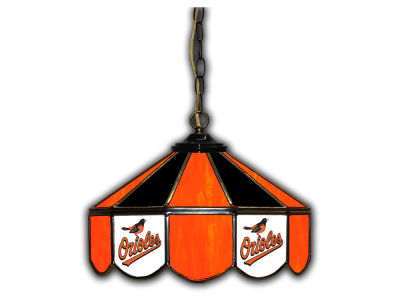 "Baltimore Orioles Imperial 14"" Glass Pub Lamp"