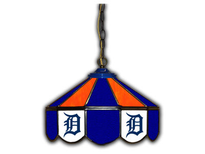 "Detroit Tigers Imperial 14"" Glass Pub Lamp"