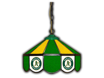 "Oakland Athletics Imperial 14"" Glass Pub Lamp"