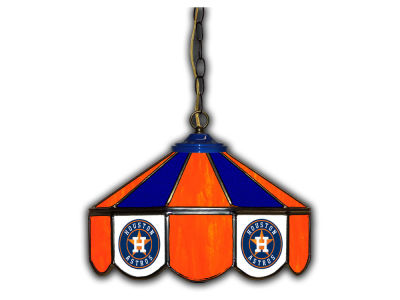"Houston Astros Imperial 14"" Glass Pub Lamp"