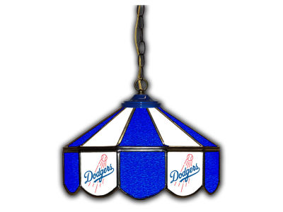 "Los Angeles Dodgers Imperial 14"" Glass Pub Lamp"