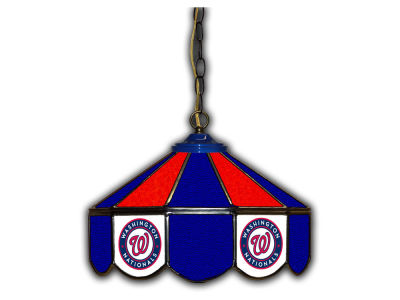 "Washington Nationals Imperial 14"" Glass Pub Lamp"