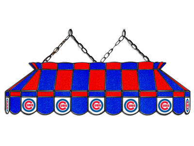"Chicago Cubs Imperial 40"" Glass Lamp"