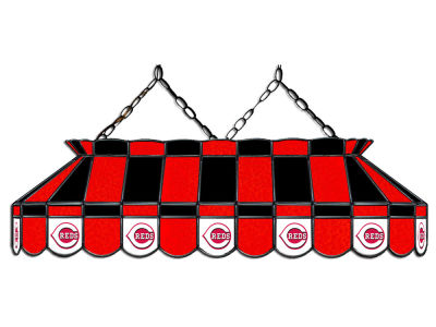 "Cincinnati Reds Imperial 40"" Glass Lamp"