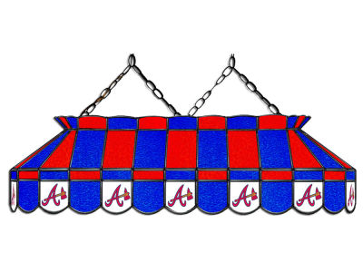"Atlanta Braves Imperial 40"" Glass Lamp"