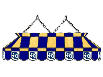 "San Diego Padres Imperial 40"" Glass Lamp"