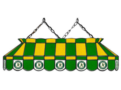 "Oakland Athletics Imperial 40"" Glass Lamp"