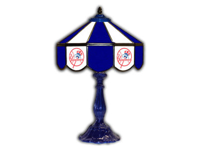 "New York Yankees Imperial 21"" Glass Table Lamp"