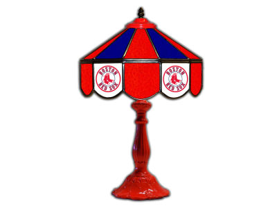 "Boston Red Sox Imperial 21"" Glass Table Lamp"