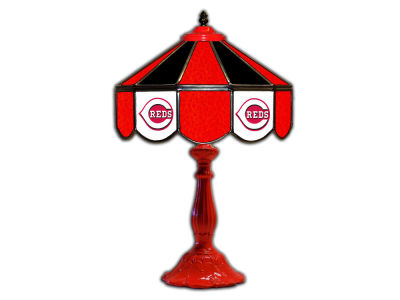 "Cincinnati Reds Imperial 21"" Glass Table Lamp"