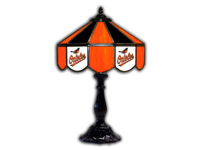 "Baltimore Orioles Imperial 21"" Glass Table Lamp"