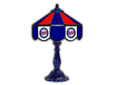 "Minnesota Twins Imperial 21"" Glass Table Lamp"