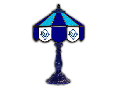 "Tampa Bay Rays Imperial 21"" Glass Table Lamp"