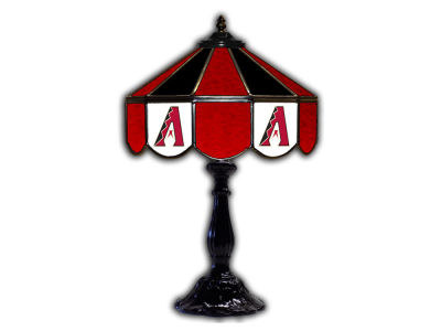 "Arizona Diamondbacks Imperial 21"" Glass Table Lamp"