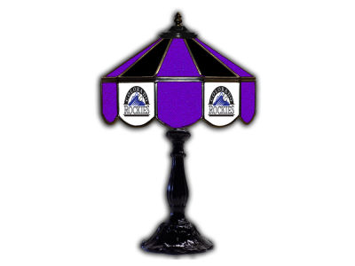"Colorado Rockies Imperial 21"" Glass Table Lamp"