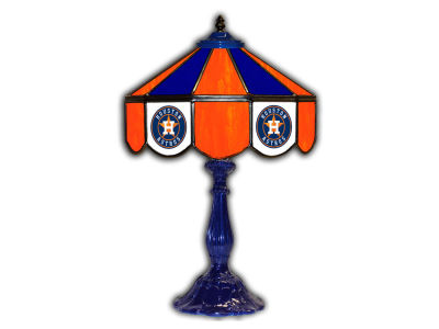 "Houston Astros Imperial 21"" Glass Table Lamp"