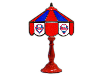 "Philadelphia Phillies Imperial 21"" Glass Table Lamp"