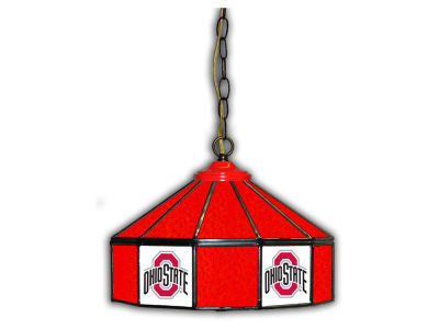 "Ohio State Buckeyes Imperial 14"" Glass Pub Lamp"